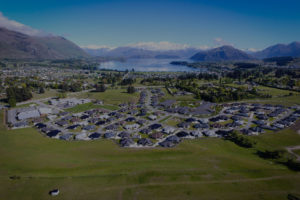 Aspiring Lifestyle Retirement Village Wanaka Retirement aerial view