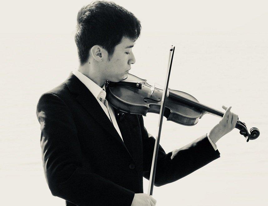 Rakuto Kurano on Violin